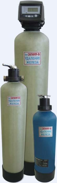 Фильтры очистки воды серии Сапфир
