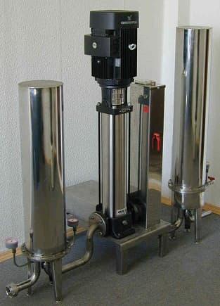 Установка обратного осмоса Ключ-М1400