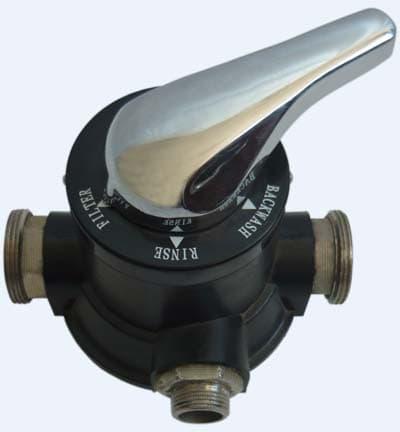 Ручной 3-х позиционный клапан