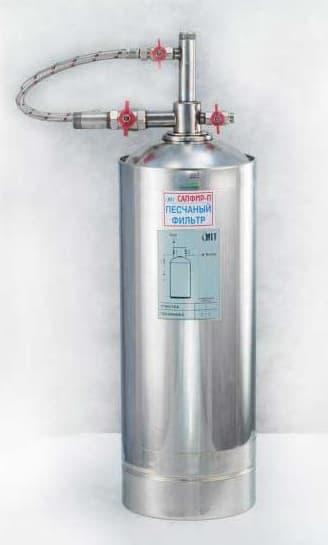 Фильтры очистки воды от грубых примесей Сапфир-П для коттеджа и загородного дома