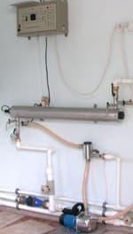 Установки обеззараживания питьевой воды