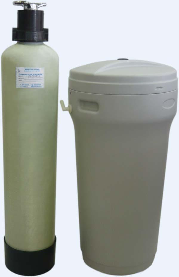 Обезжелезивание воды из скважины Сапфир-У-К