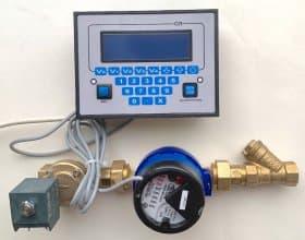 Электронный дозатор жидкости по объему