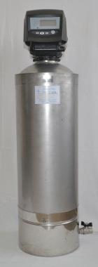 Нержавеющий фильтр от железа Сапфир BR14/нс с нижним сливом