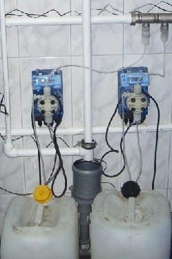 Электронный насос дозатор