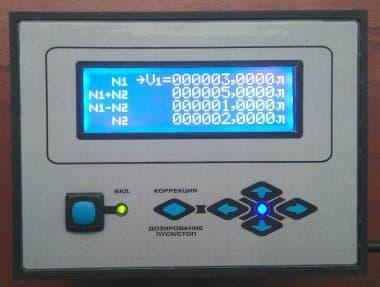 Промышленный дозатор для вязких жидкостей электронный