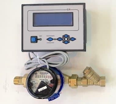 Цифровой расходомер воды и жидкостей СР