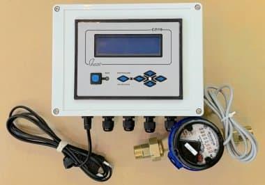 Электронный промышленный расходомер СР воды и жидкостей