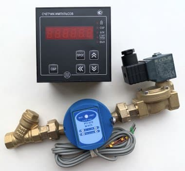 Дозатор смеситель воды ДС автоматический