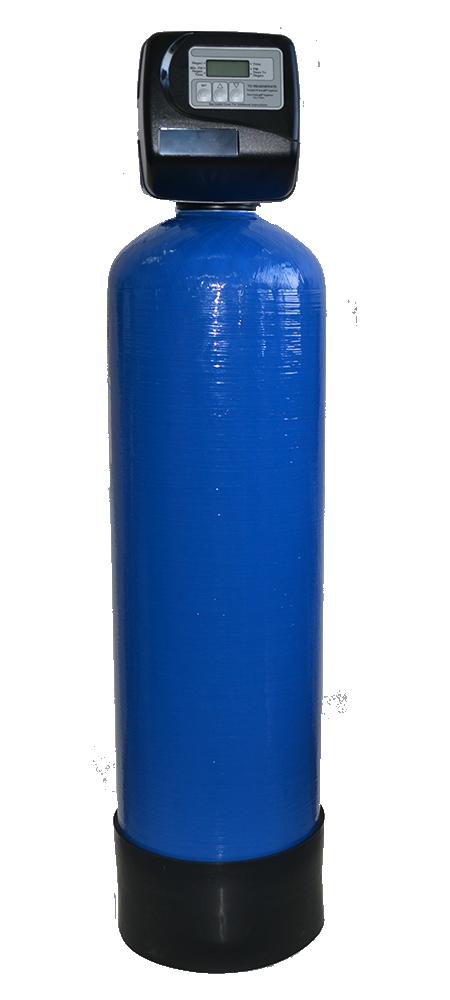 Автоматический фильтр воды от железа для водопровода Сапфир-БР-А/к