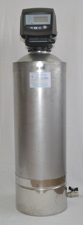 Фильтр от железа Сапфир-BR14A с нижним сливом