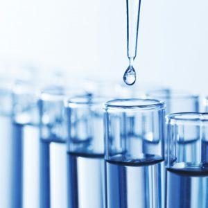 Химический анализ воды в лаборатории СЭС