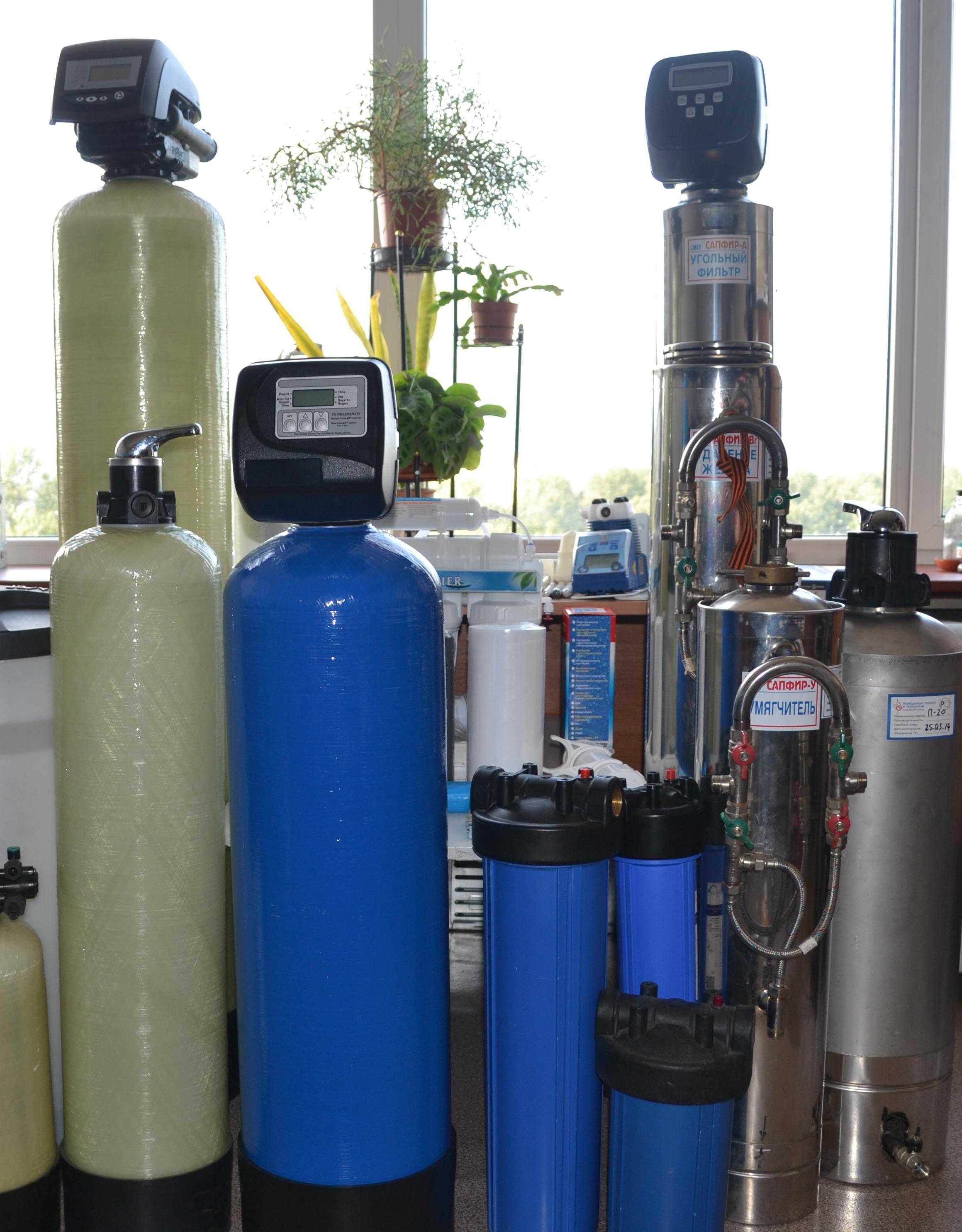 Фильтры и оборудование для очистки воды и водоподготовки Каталог