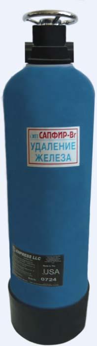 Фильтр обезжелезиватель воды из скважины для дачи Сапфир-БР/м