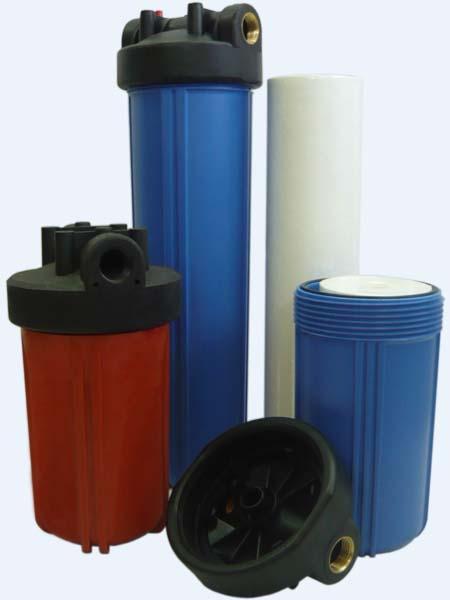 Магистральные проточные фильтры тонкой очистки воды Ключ-Т