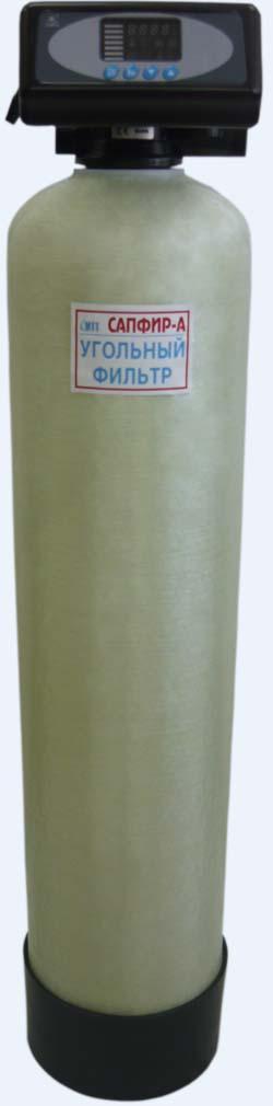 Автоматический фильтр обезжелезивания воды из скважины и колодца Сапфир-БР-А/р