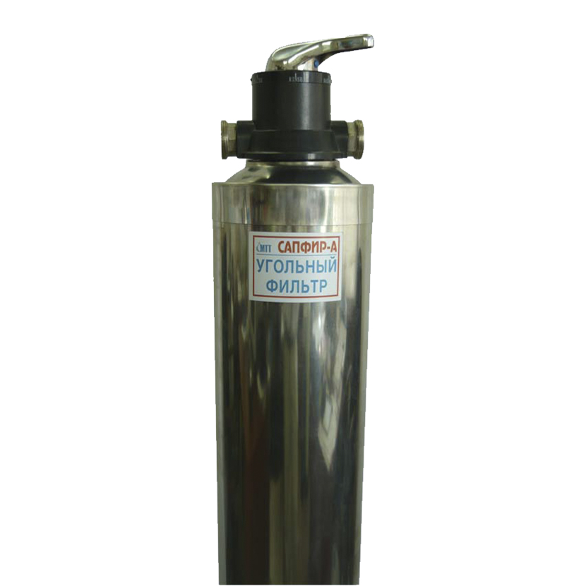 Фильтр водоочистки из скважины от железа для дачи Сапфир-БР/нс